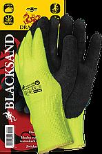 Защитные рукавицы BLACKSAND YB утепленные, с покрытием REIS