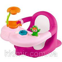 Стульчик для купания Жабка с игровой панелью розовый Cotoons Smoby 110605