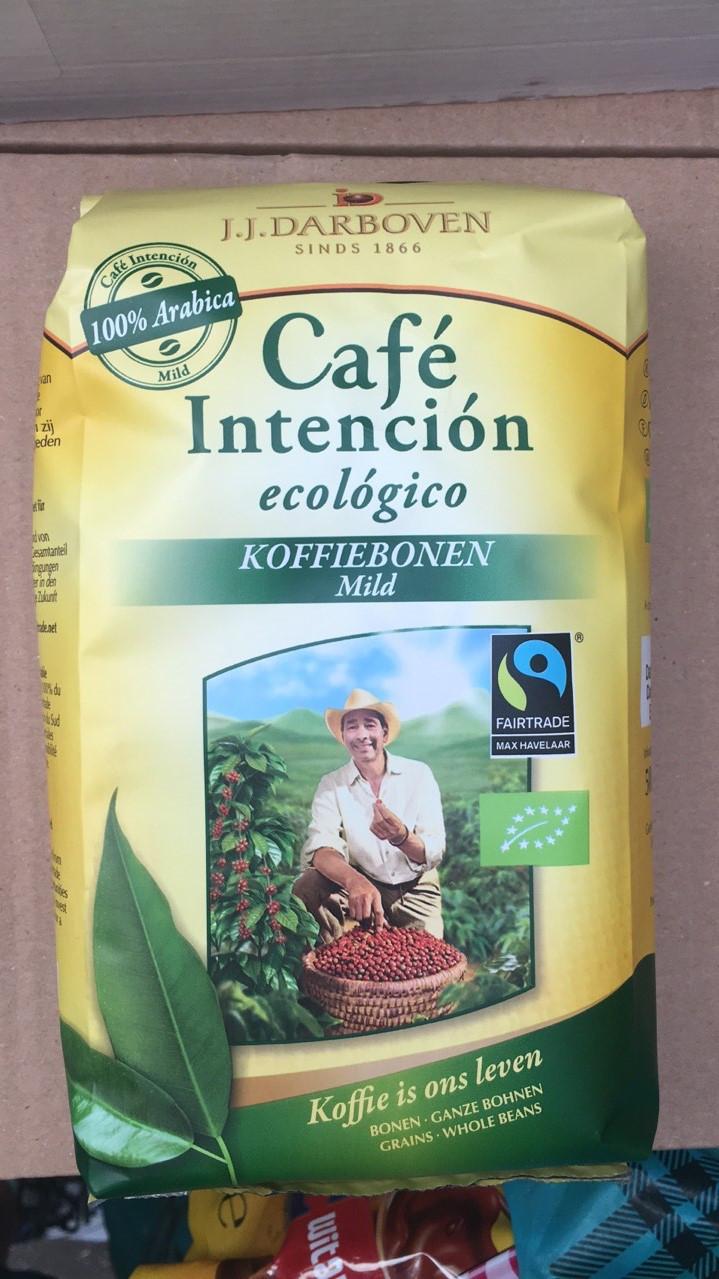 Кофе J.J. Darboven Сafe Intencion Ecologico Koffiebonen Mild в зернах 500 гр