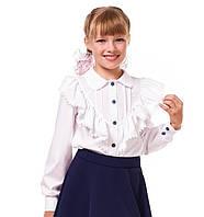 Блузка для девочек с рюшами (12001)