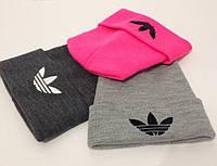 """Шапка с логотипом """"Adidas"""" в расцветках, фото 1"""