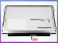 """Матрица 10.1"""" B101AW06 V.1 для Acer D270 Slim (1024*600, 40pin справа, ушки по бокам). Глянцевая."""