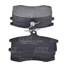 Комплект передних колодок ВАЗ 2108-21099, 2113-2115 дискового тормоза LSA LA 2108-3501090
