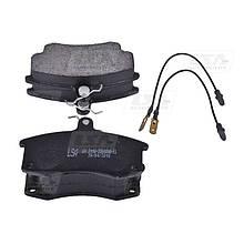 Комплект передних колодок ВАЗ 2110-2112 дискового тормоза LSA LA 2110-3501090-EL