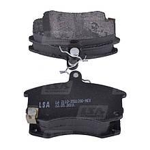 Комплект передних колодок ВАЗ 2110-2112 дискового тормоза LSA LA 2110-3501090-MEX