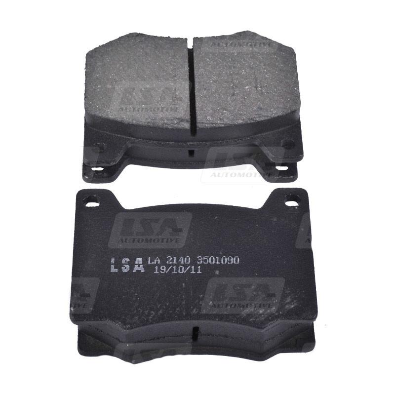 Комплект передних колодок Москвич 412-2140 дискового тормоза LSA LA 412-3501090