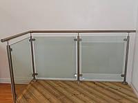 Перила Ограждения из нержавеющей стали и стекла