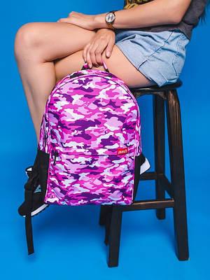 Рюкзак Crypt, розовый Camo Pink