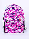 Рюкзак Crypt, розовый Camo Pink, фото 2