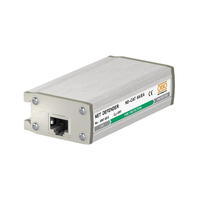 5081800 Система Net Defender для захисту від перенапруг високошвидкісних мереж до 10гбіт, ND-CAT6A/EA OBO