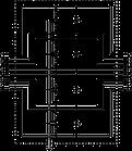 5081800 Система Net Defender для захисту від перенапруг високошвидкісних мереж до 10гбіт, ND-CAT6A/EA OBO, фото 3