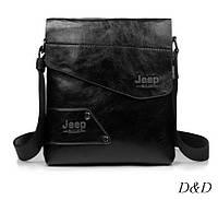 Повседневная мужская сумка черная