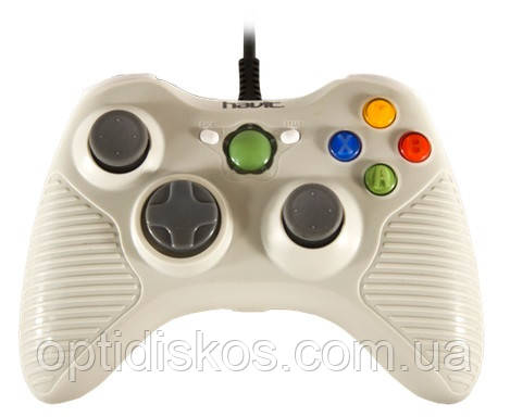 Игровой Манипулятор Gamepad HAVIT HV-G83 USB, белый