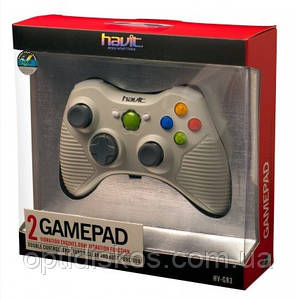 Игровой Манипулятор Gamepad HAVIT HV-G83 USB, белый, фото 2