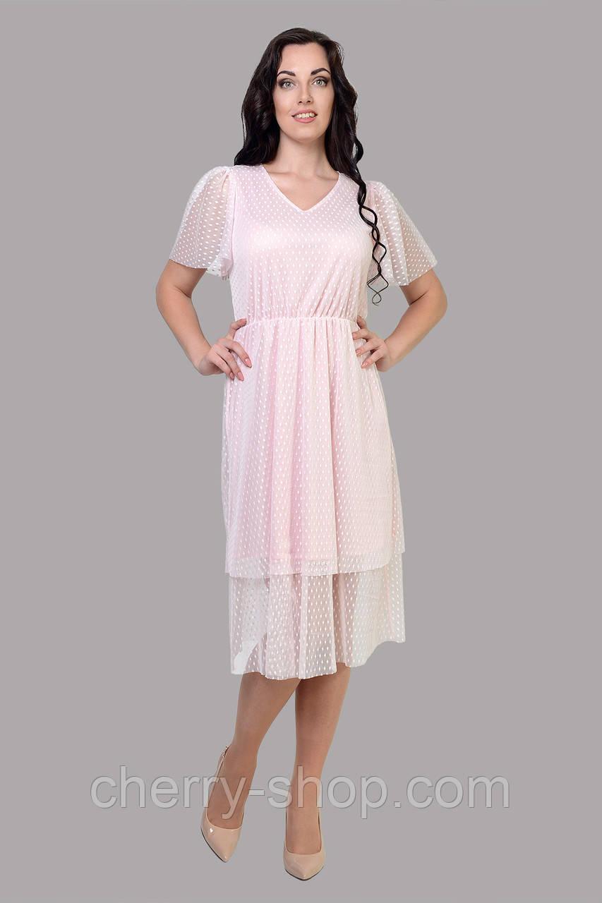 Нежное романтичное платье