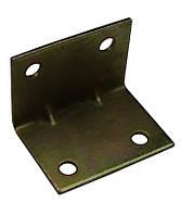 Уголок крепежный №37/2 тонкий (25х25х35х1-1,2) ТМ БеМаС