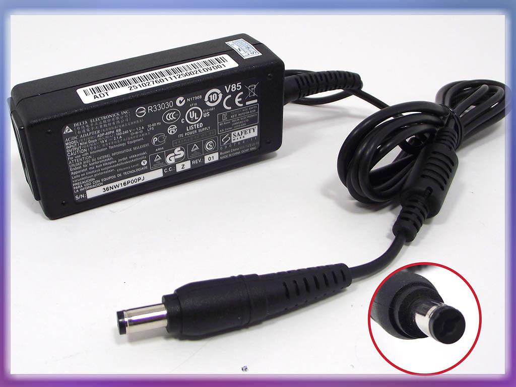 Блок питания Acer 19V 2.15A 40W (5.5*1.7) ORIG1. Под кабель 220V 2 pin