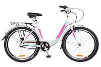 "Велосипед 26"" Optimabikes VISION PH 2018 (бело-розовый с голубым (м))"