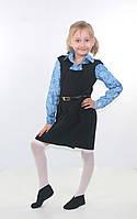 """Сарафан для дівчинки """"Тая"""" р-р.122-146 / шкільний сарафан для дівчинки / сарафан в школу / школьный сарафан, фото 1"""