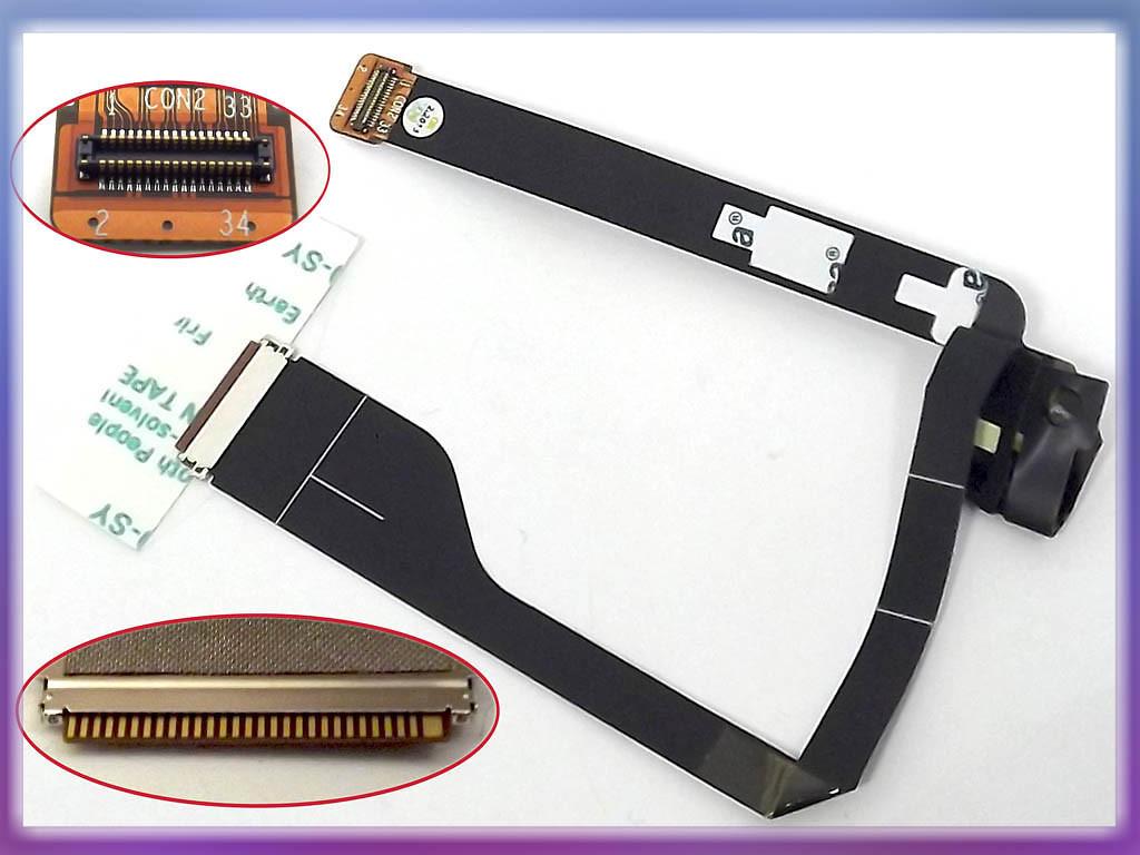 Шлейф матрицы Acer Aspire S3, S3-951, S3-391 (HB2-A004-001 V.2) (50.13