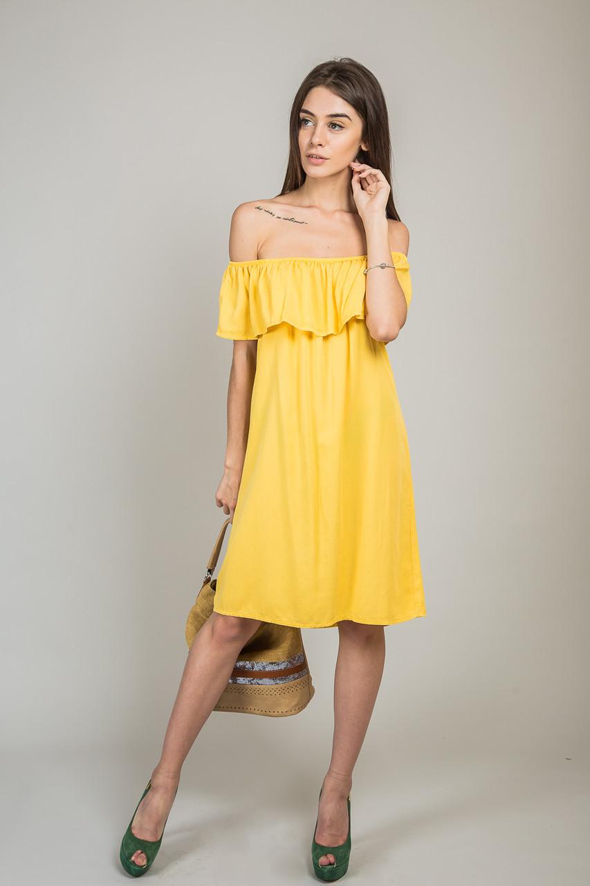 b0ad11291da Летнее Платье с Открытыми Плечами - 100% Лиоцел — в Категории