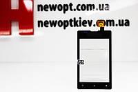 Тачскрин (Сенсор дисплея) Sony Xperia E C1605/C1604/C1505/C1504 черный Оригинал