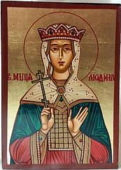 Икона Святая Людмила
