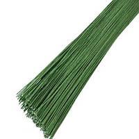 Проволка для цветов зеленая №20 25шт. Украина-01463
