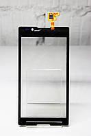 Тачскрин (Сенсор дисплея) Sony C2105/C2104/s36 черный Оригинал (Китай)