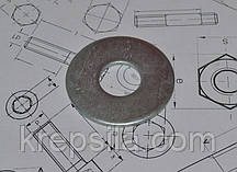 Шайба М30 увеличенная оцинкованная DIN 9021