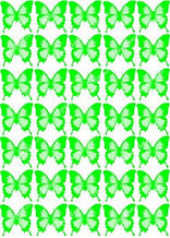 "Вафельная картинка ""Бабочки"" - 9"
