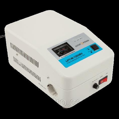 Стабилизатор напряжения LogicPower LPT-W-1200RV (Белый), фото 2
