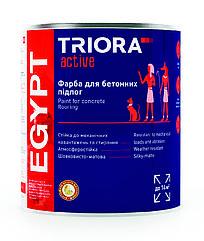 Фарба для бетонних підлог (темно-сіра) Triora, 2.8 кг