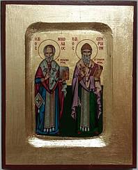 Икона Спиридон и Николай