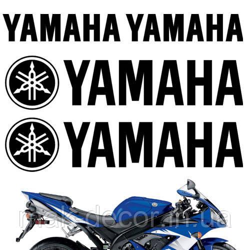Виниловая наклейка  - Yamaha 16х30 см