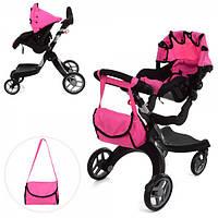 Прогулочная коляска для кукол 9631