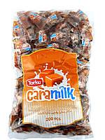 Жев.конфета 1 кг. Caramilk Тorku молоко-ирис