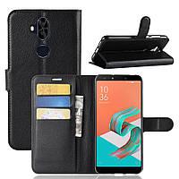 Чехол Asus Zenfone 5 Lite / 5Q / ZC600KL / 5A013WW / X017D 6.0'' книжка PU-Кожа черный