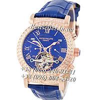 Часы Patek Philippe Grand Complications Tourbillon 42mm Gold/Blue/Blue. Replica, фото 1