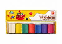 Пластилин 7 цветов гамма.Пластилин для детей.