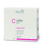 Nouvelle Color Glow Средство для восстановления структуры волос в ампулах, 10 ампул х 10 мл