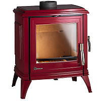Чугунная печь INVICTA Sedan 10 (бежевая, красная), фото 1