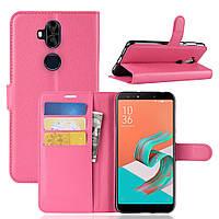 Чехол Asus Zenfone 5 Lite / 5Q / ZC600KL / 5A013WW / X017D 6.0'' книжка PU-Кожа розовый