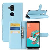 Чехол Asus Zenfone 5 Lite / 5Q / ZC600KL / 5A013WW / X017D 6.0'' книжка PU-Кожа голубой