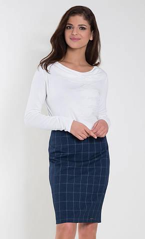 Женская блуза Ksymena Zaps молочного цвета. Коллекция осень-зима 2018-2019