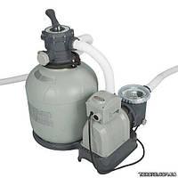 Intex Фильтр-насос 28648 грубокой очистки 220V 10599 л/ч (насос) 8139 л/ч (фильтр)