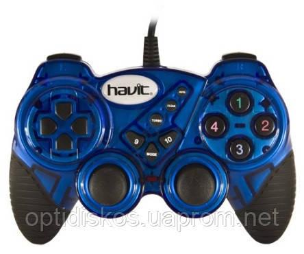 Игровой Манипулятор Gamepad HAVIT HV-G92 USB, синий
