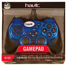Игровой Манипулятор Gamepad HAVIT HV-G92 USB, синий, фото 2