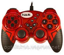 Игровой Манипулятор Gamepad HAVIT HV-G92 USB, красный