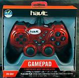 Ігровий Маніпулятор Gamepad HAVIT HV-G92 USB, червоний, фото 2